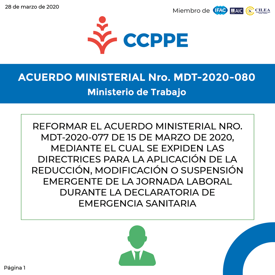 Acuerdo Ministerial MDT-2020-080 01